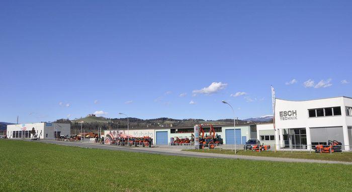 Bild des Esch-Technik Zentralbetriebes in St. Veit an der Glan